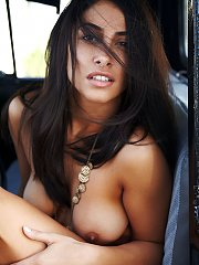 Nadia in Voiture by Erro