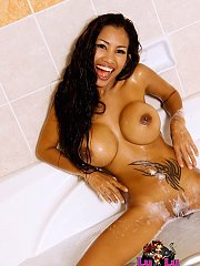 Lulu hot wet and sexy nudes in the tub